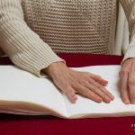 Braille leren, braille lezen