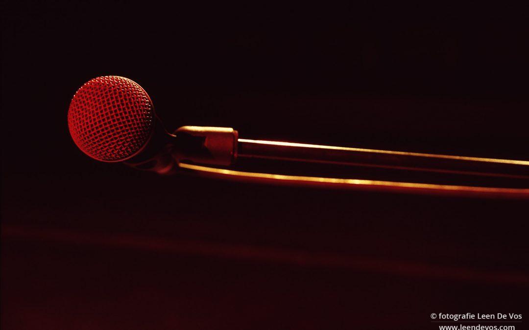 Niet zien, zien, anders zien in woord en muziek
