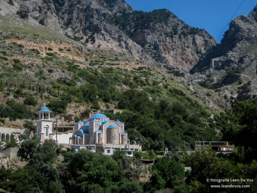 Klooster in de Rouvas kloof, Kreta